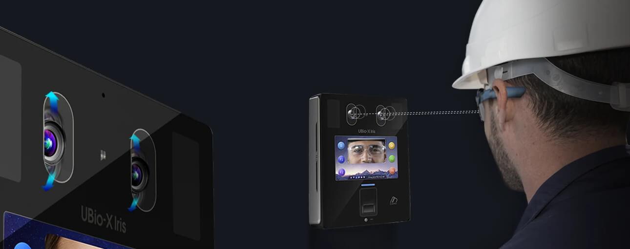 UBio-X Iris - kamera z automatycznym pochyleniem