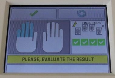 Czytnik odcisków palców i śródręcza Thales Green Bit MultiScan 527